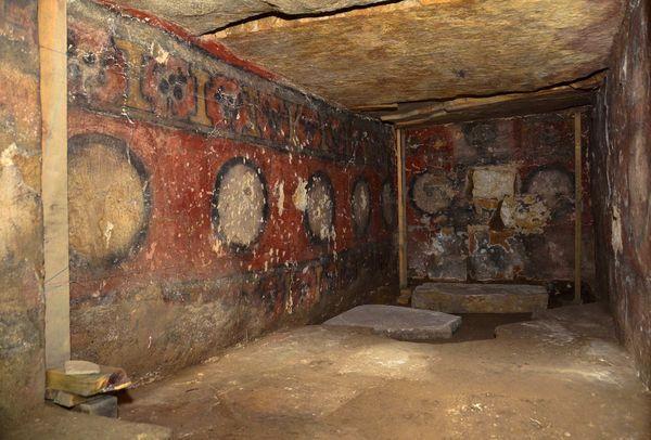 Cámara funeraria Fuente: Héctor Montaño, INAH